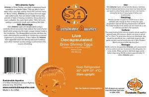 Brine Label